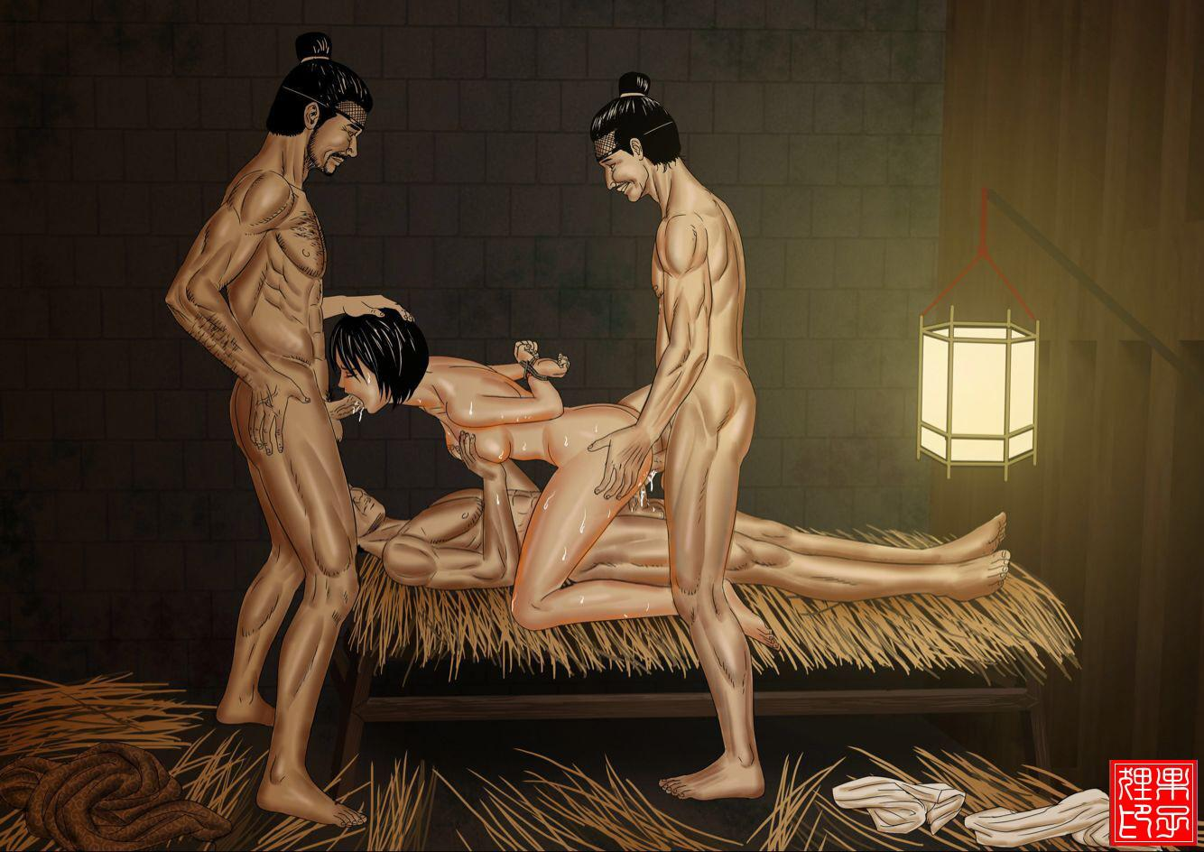 Tortured sex goddess of the ming dynasty