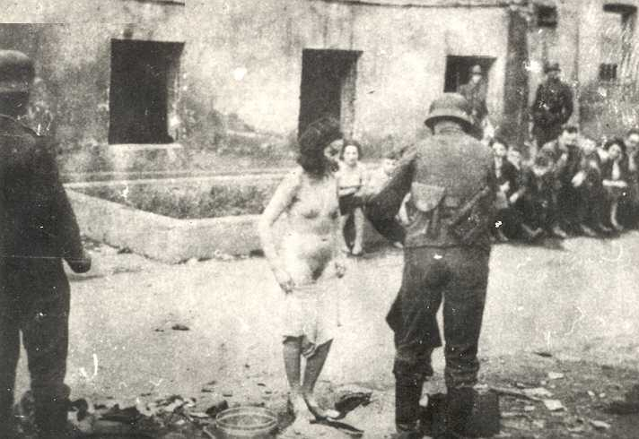 Naked jews in the war